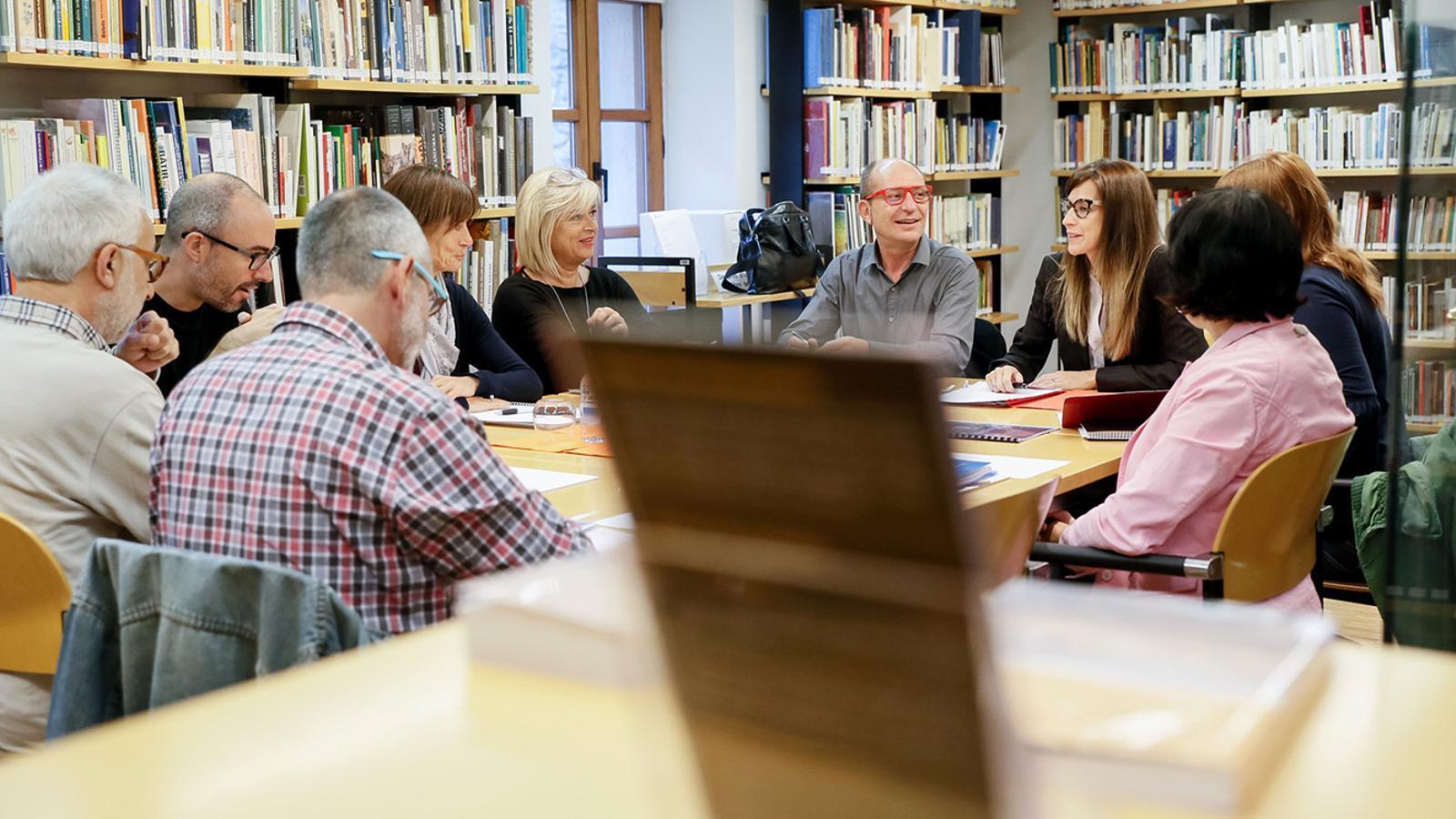 La reunió del consell. / SFG