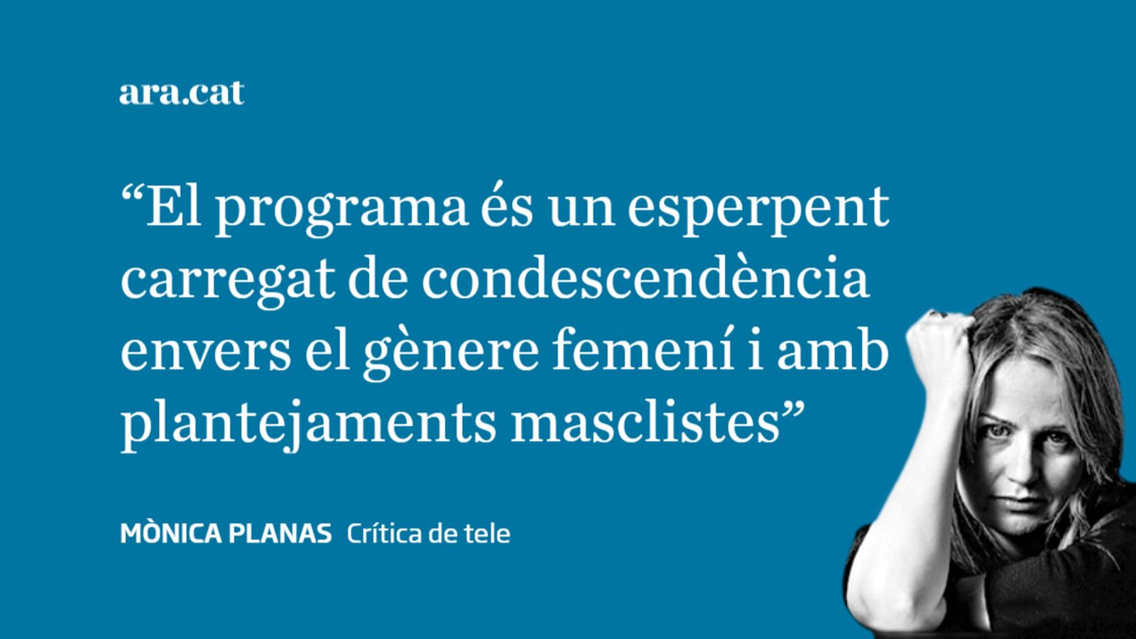 El frau feminista d'Ana Rosa Quintana