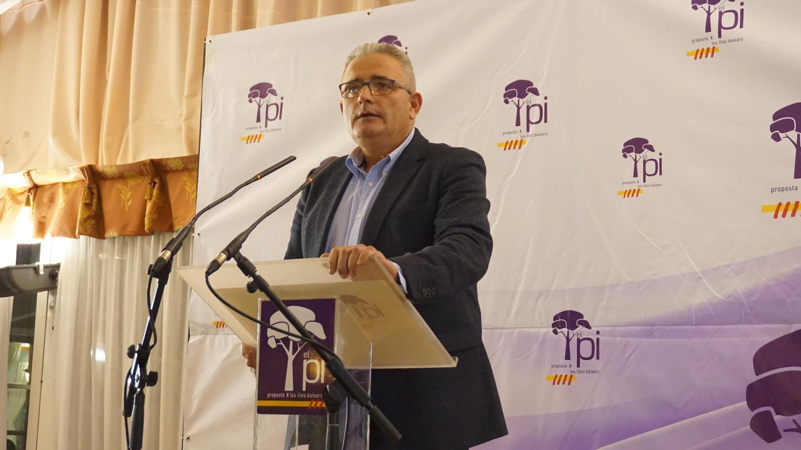 """Jaume Font demana """"no caure en la radicalització"""" dels grans partits."""