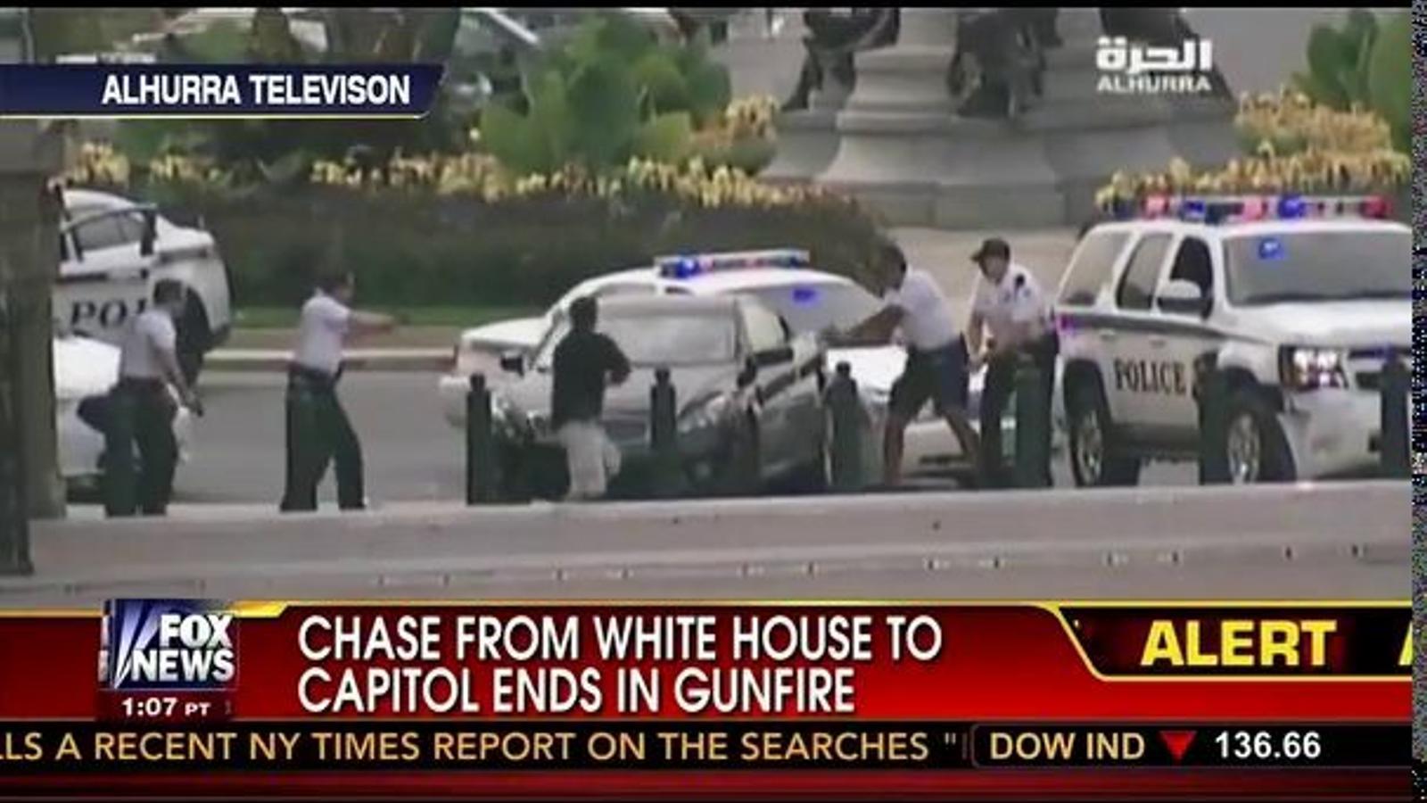 Persecució policial a les afores del Capitoli