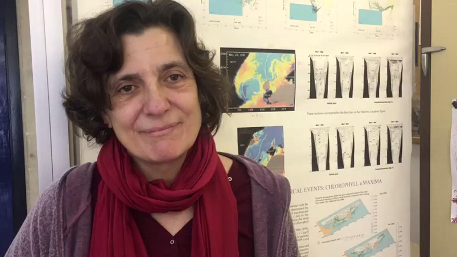 Rosa Balbín portaveu dels treballadors de l'Oceanogràfic de Balears