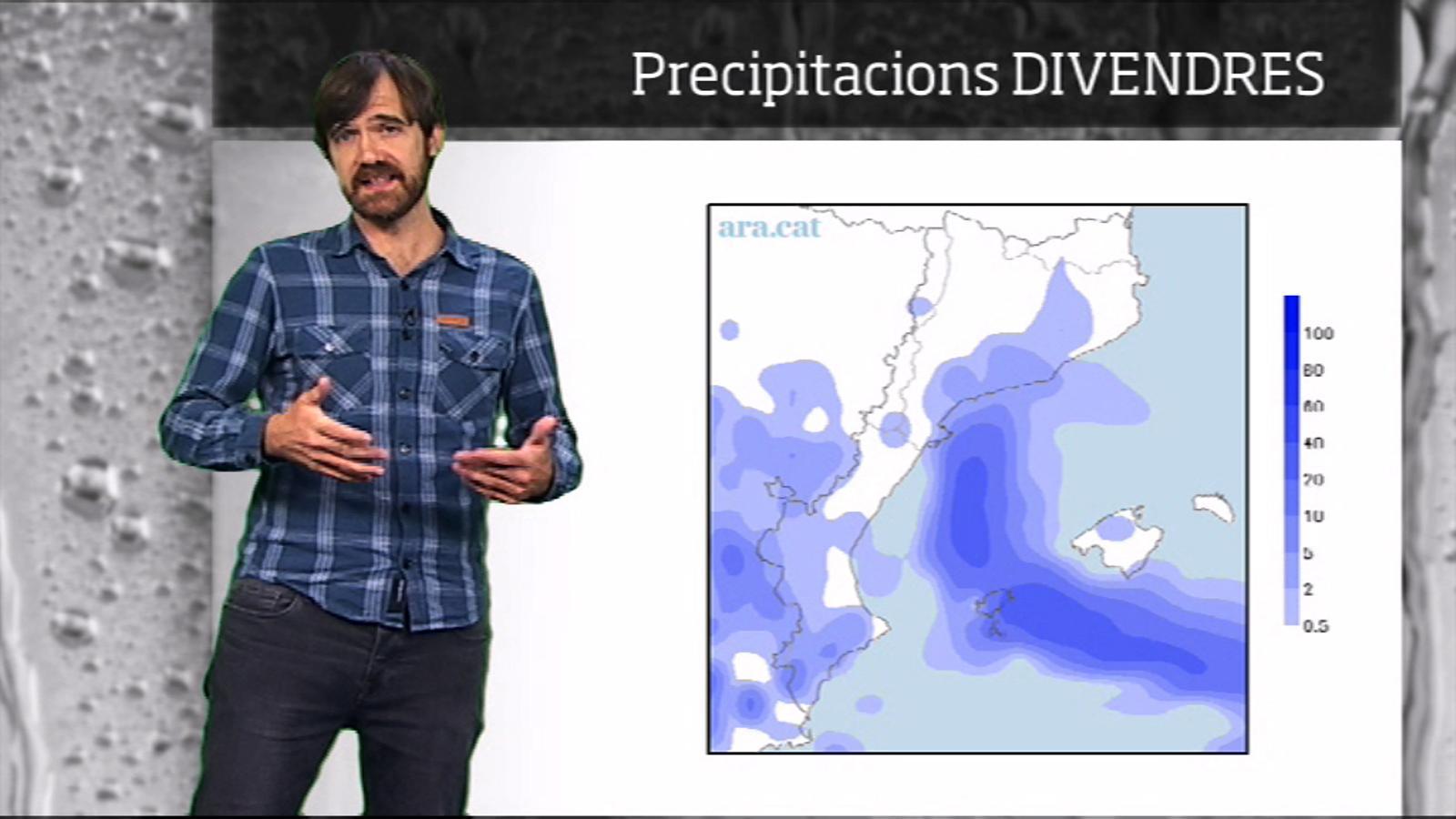 La méteo en 1 minut: divendres insegur i possibles pluges dissabte