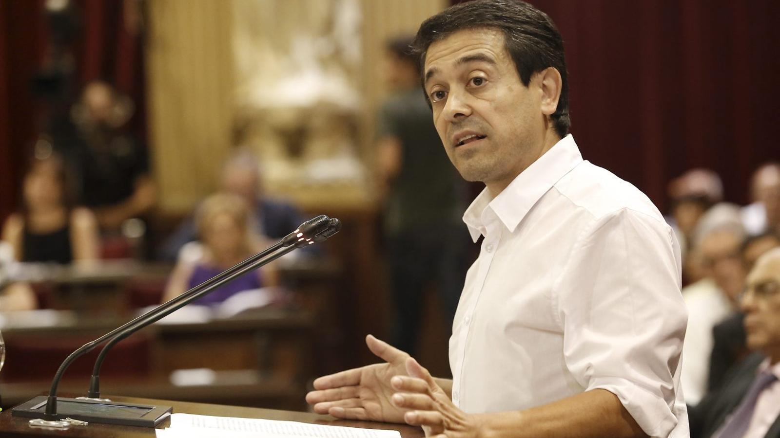 El diputat Nel Martí.