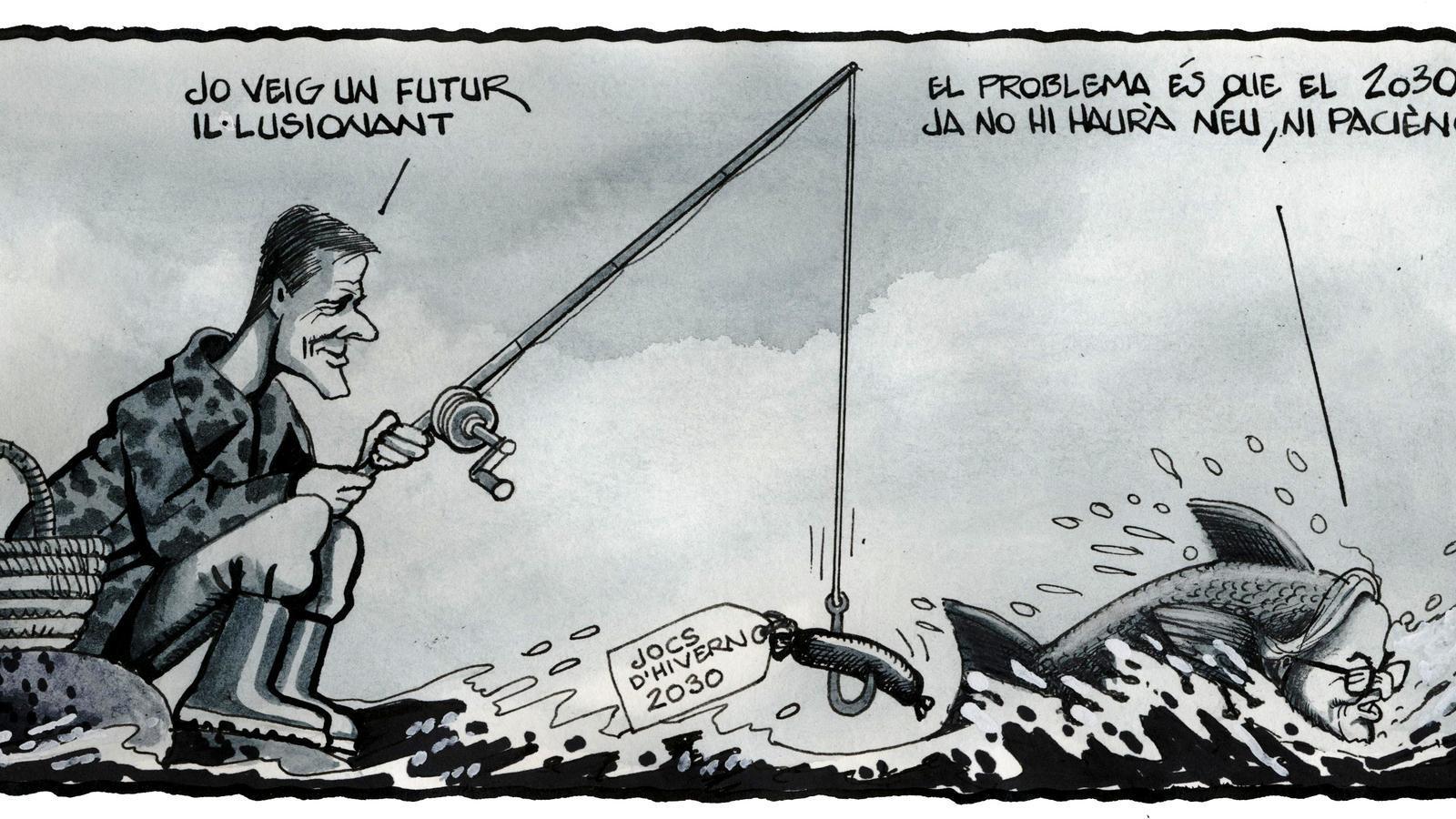 'A la contra', per Ferreres 09/02/2020