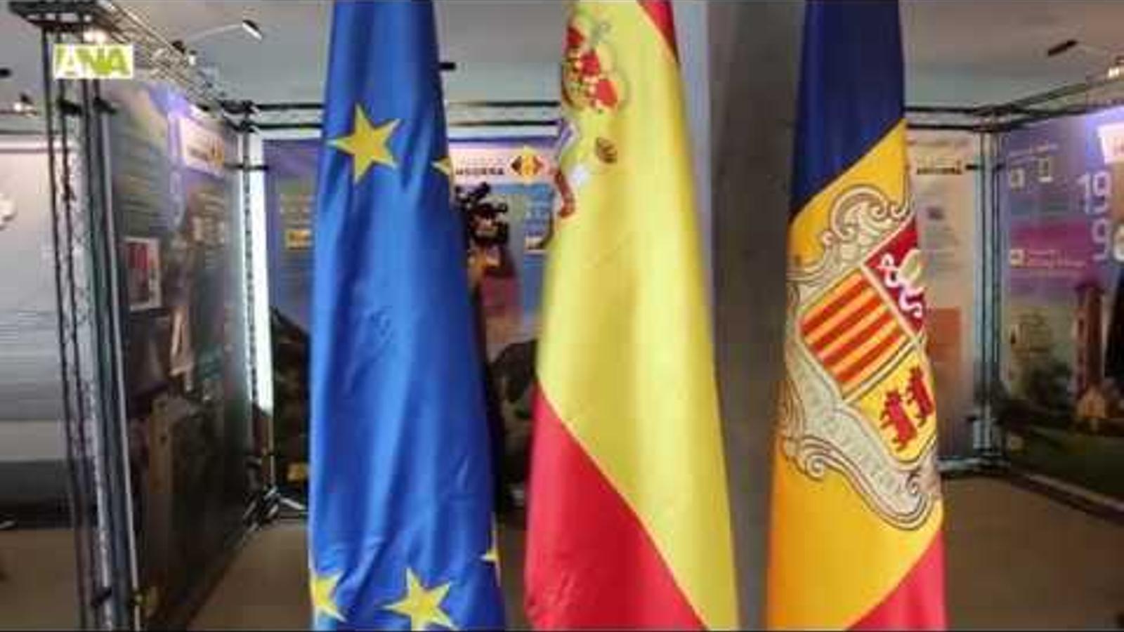 Celebració dels 25 anys de relacions diplomàtiques entre Andorra i Espanya.