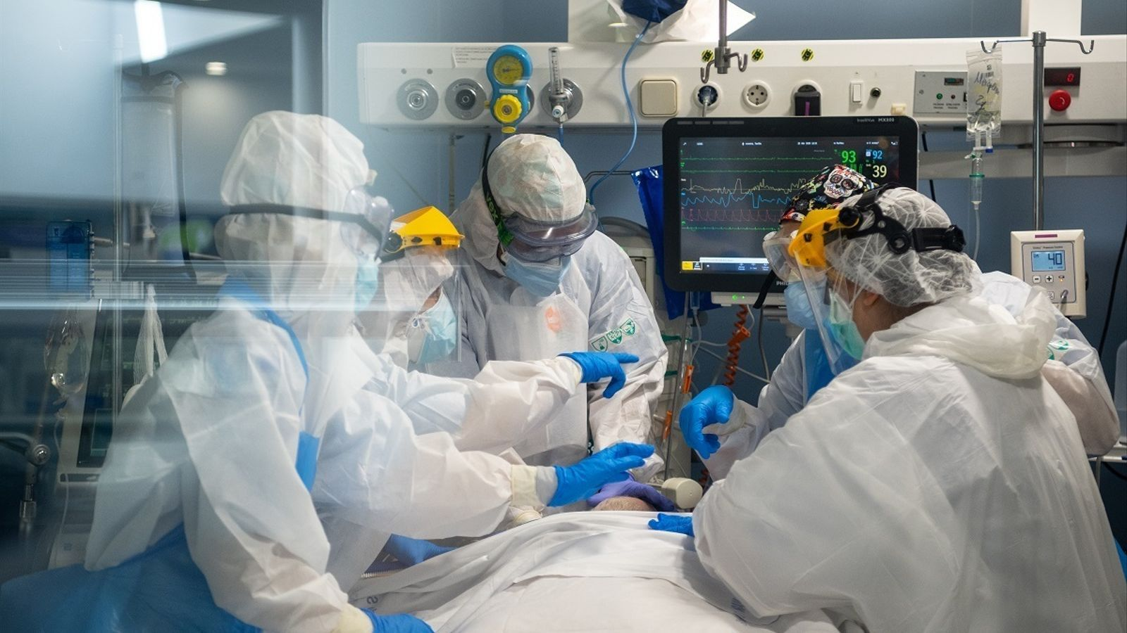 Professional sanitari de l'Hospital del Mar.