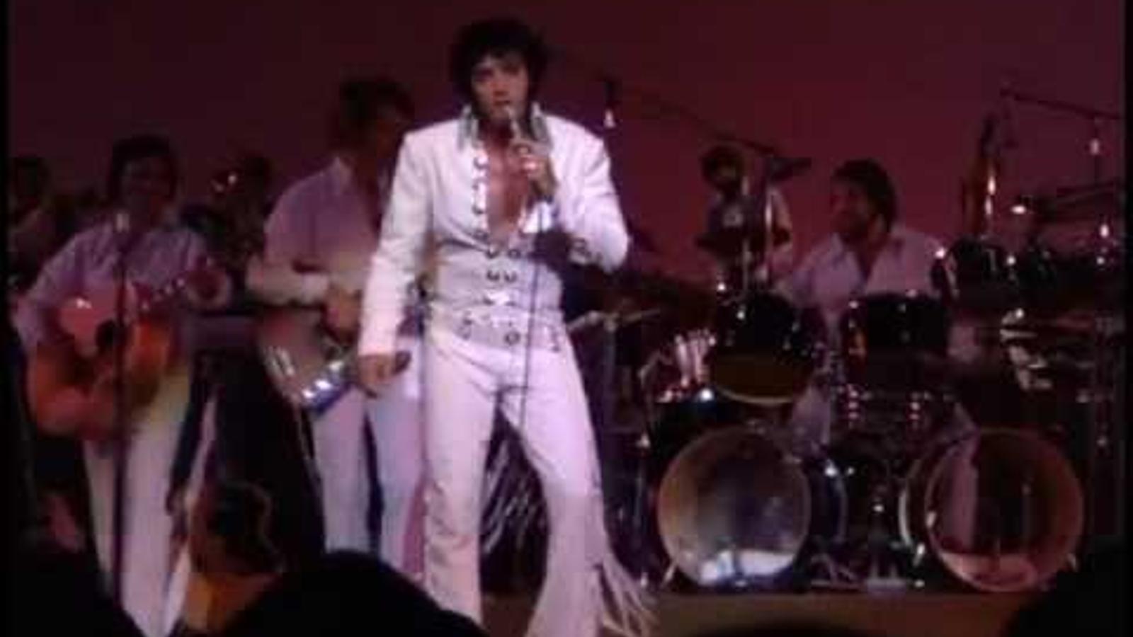 'Suspicious minds', per Elvis Presley