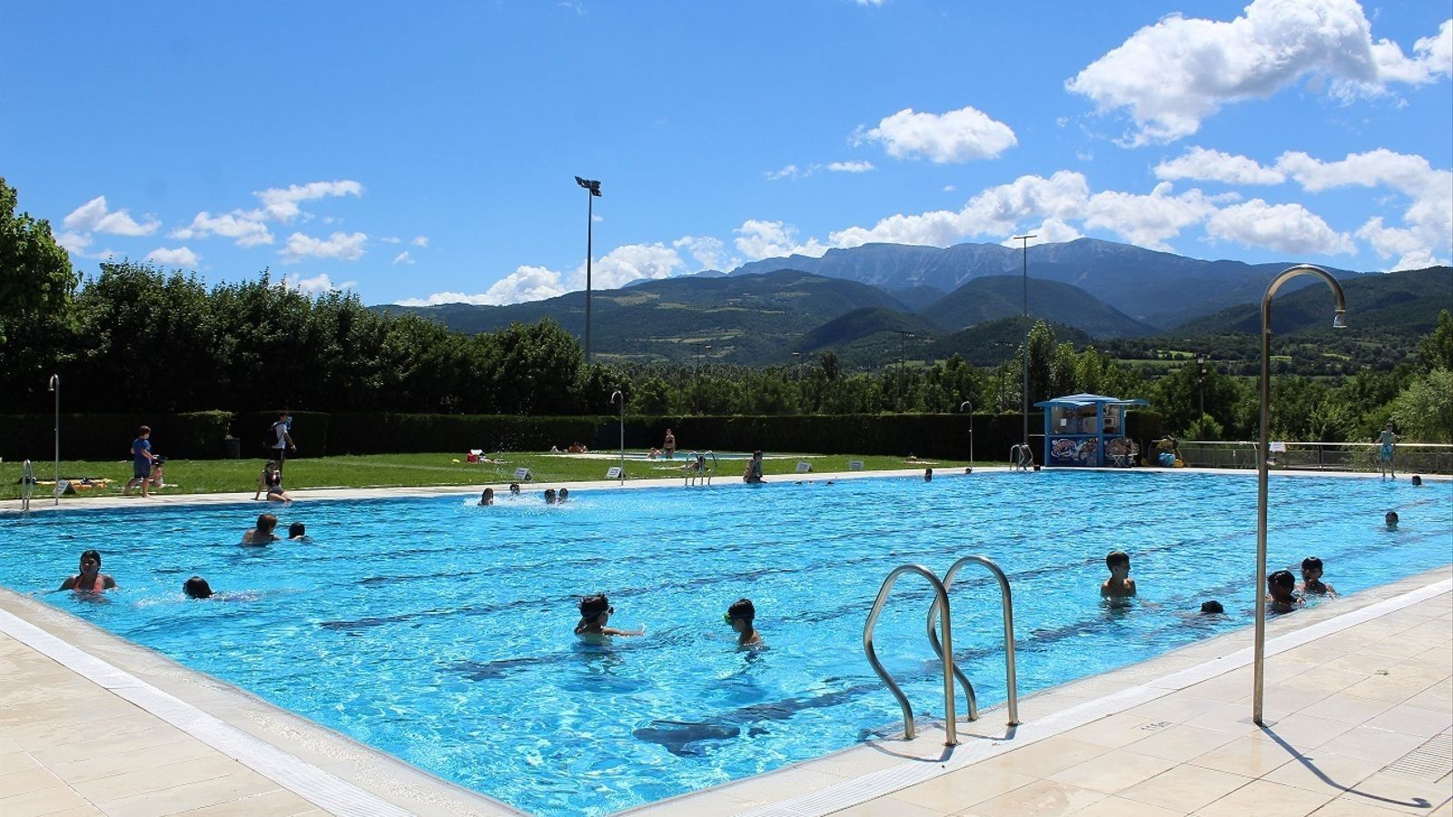 La piscina municipal de la Seu. / RÀDIOSEU