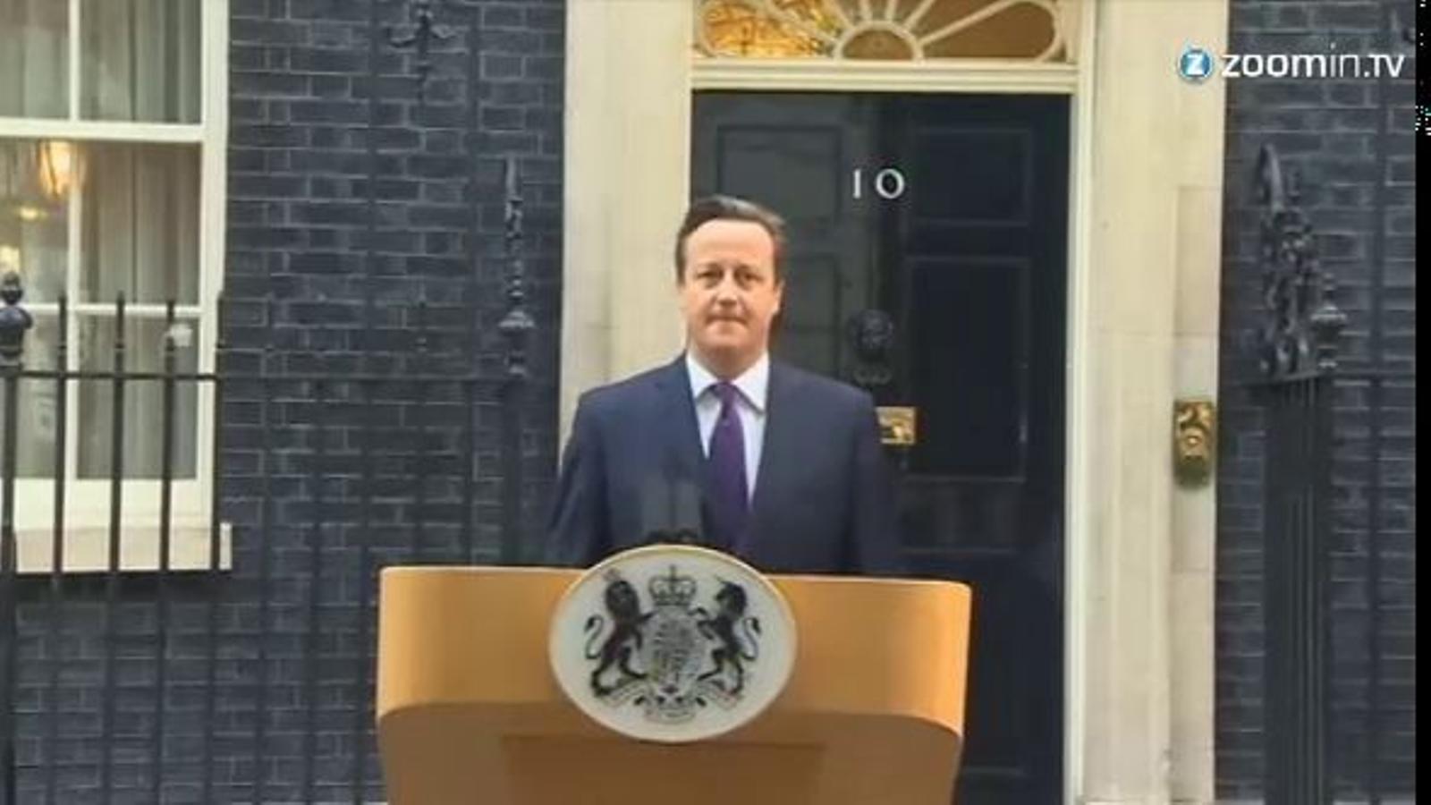 Cameron assegura que podria haver prohibit el referèndum però que és un demòcrata