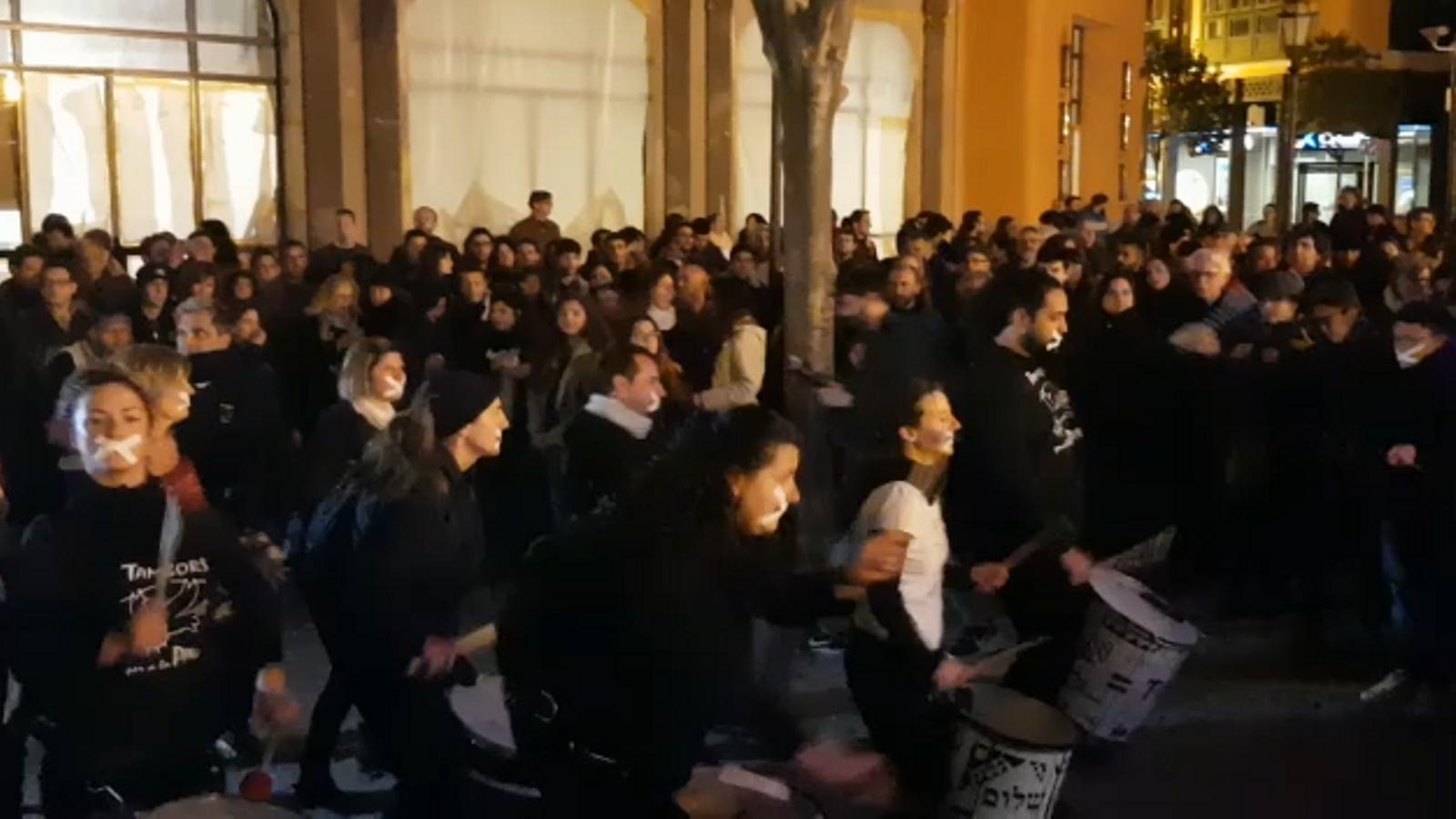 Una vintena de concentracions arreu de Mallorca donen suport a Valtonyc