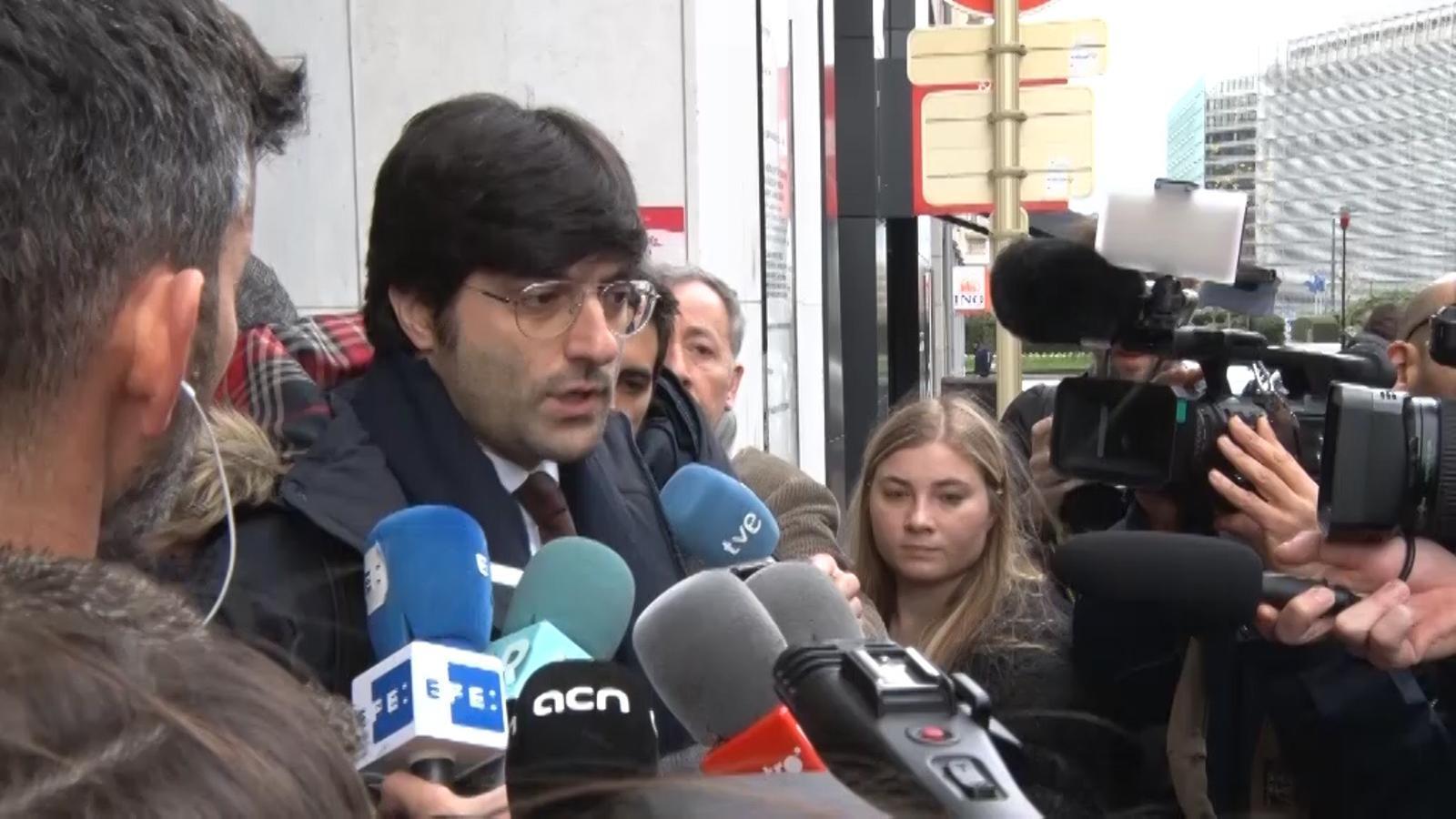 El portaveu de Carles Puigdemont, valora la prohibició de la reunió amb Roger Torrent a la delegació del Govern a Brussel·les