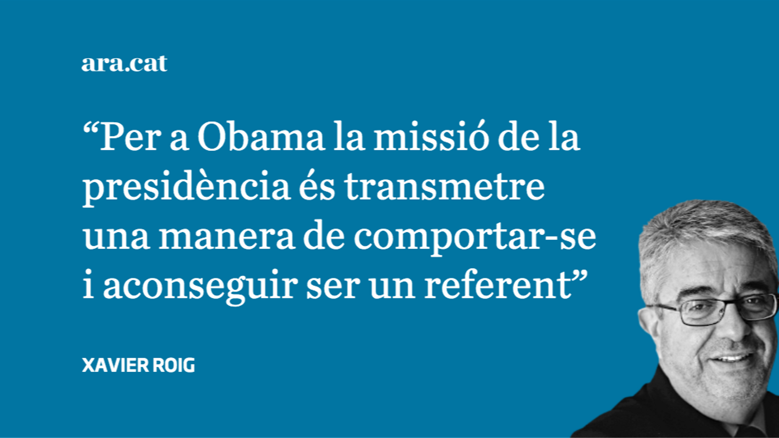 Encara Obama: dues reflexions