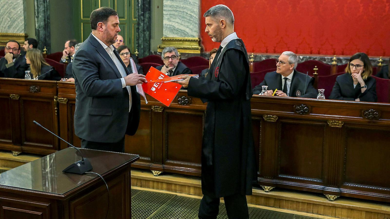 La immunitat de Junqueras arriba a Luxemburg
