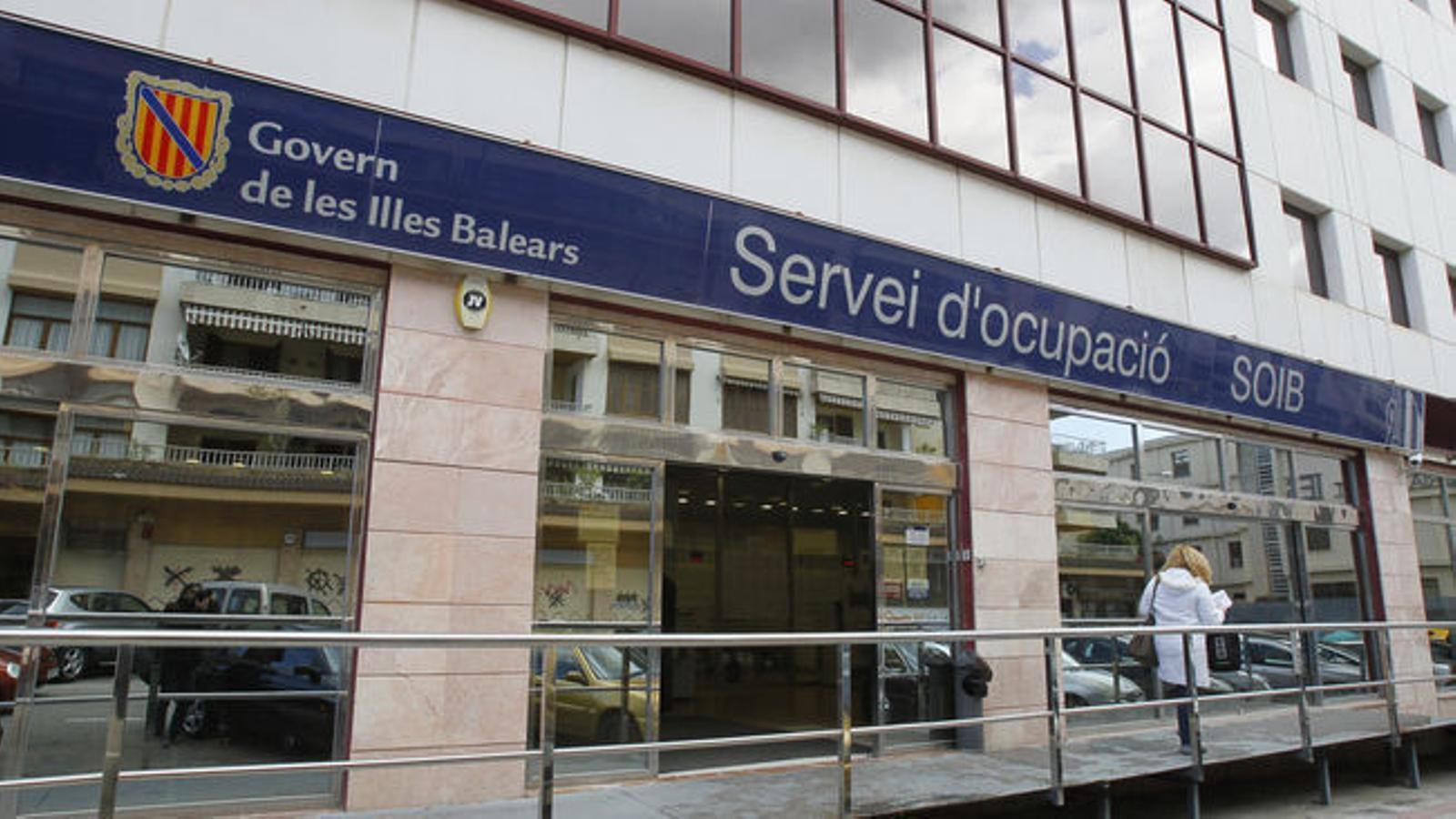 Una oficina del SOIB. / ARA BALEARS