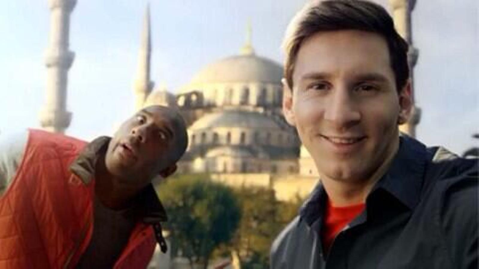 Kobe Bryant i Leo Messi tornen a protagonitzar un anunci