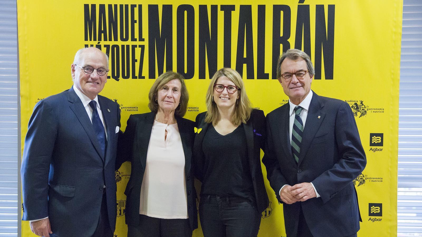 Carles Vilarrubí, Anna Sallés, Elsa Artadi i Artur Mas