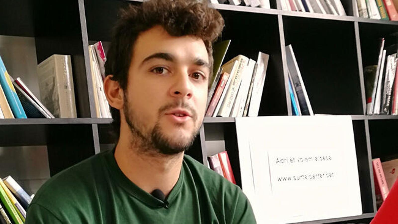 Adrià Carrasco, en una imatge d'arxiu