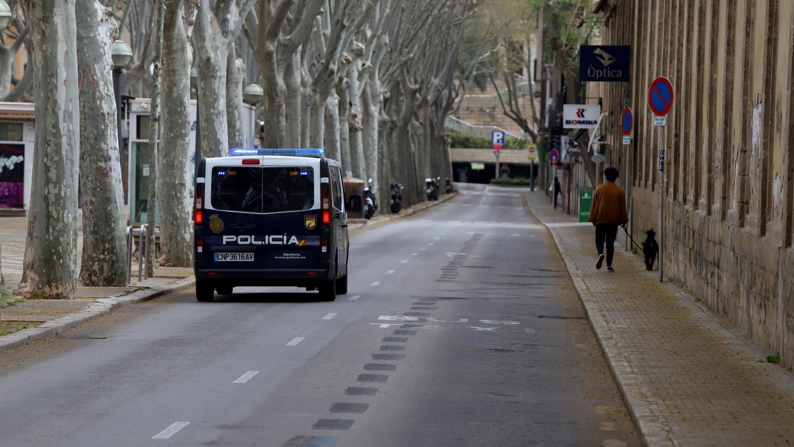 Detenen un home per saltar-se nou vegades el confinament a Palma