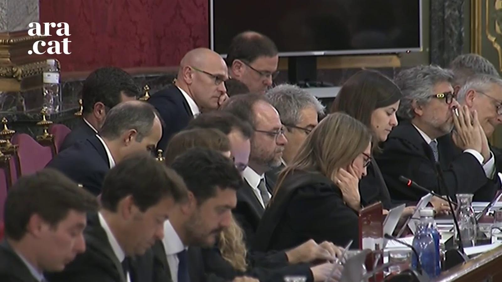 Anna Teixidó diu que la Guàrdia Civil no li va dir a Jordi Sànchez que hi havia armes perquè no ho utilitzés