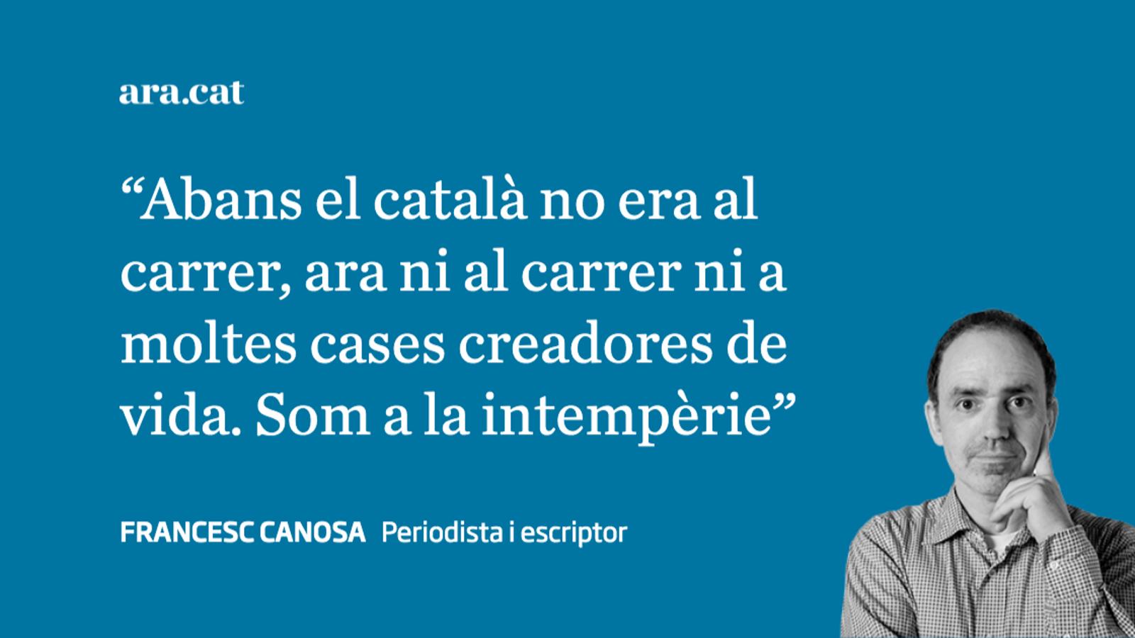 El català no serveix per a res