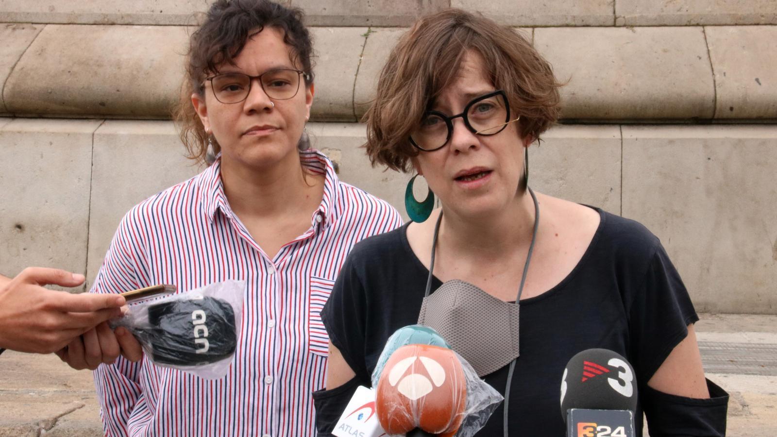 La CUP insta a retirar l'estàtua de Colom i exigeix als partits que es posicionin
