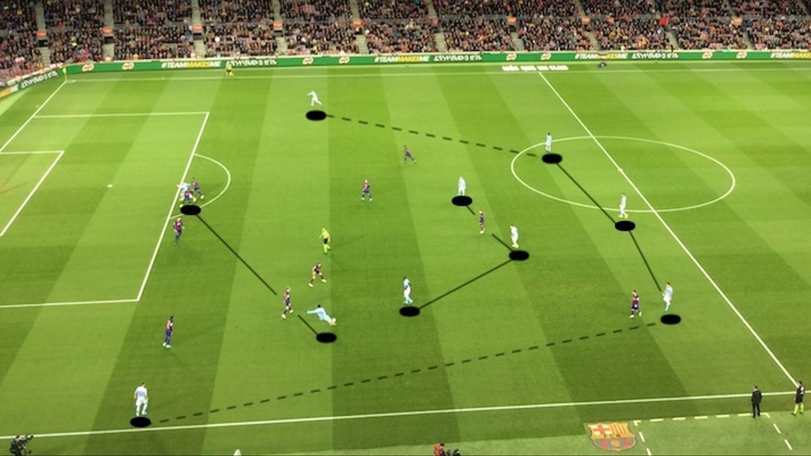 El Celta surt al Camp Nou amb una idea agressiva i amb esquema 3-5-2