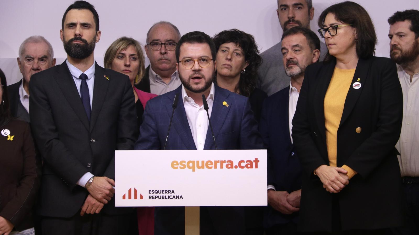 Junqueras presentarà un recurs al Suprem i demana protecció al president del Parlament Europeu
