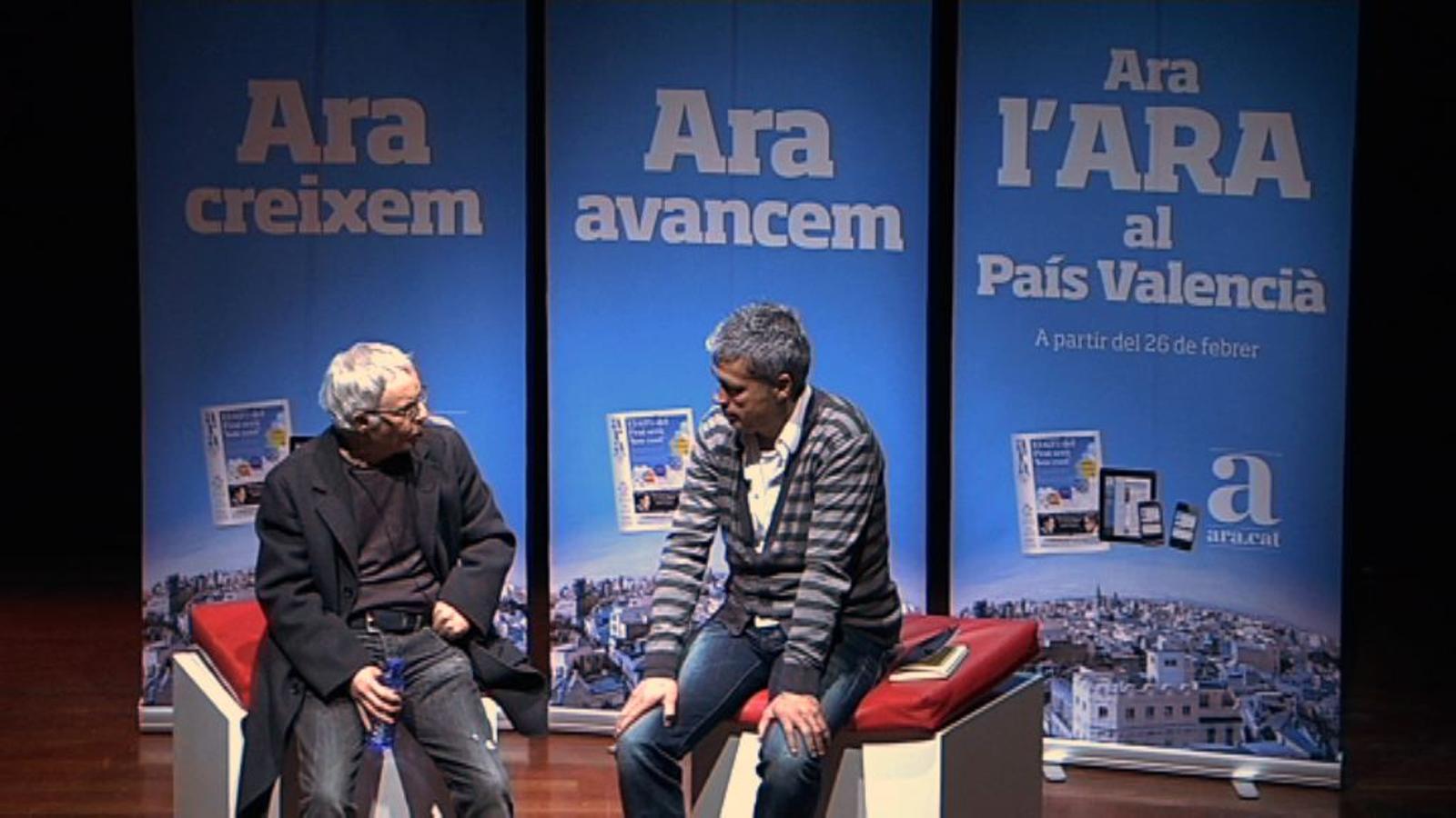 Ferran Torrent: L'ARA sempre m'ha respectat el meu valencià, i sense que hagi calgut demanar-ho
