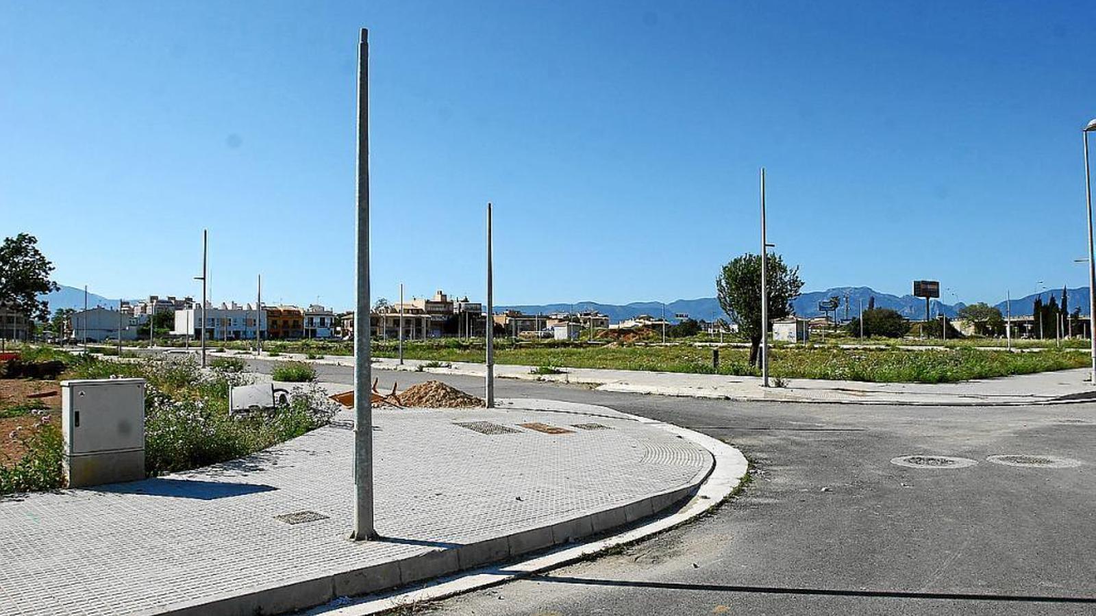 Les obres d'urbanització de Son Ferragut podrien començar en les pròximes setmanes