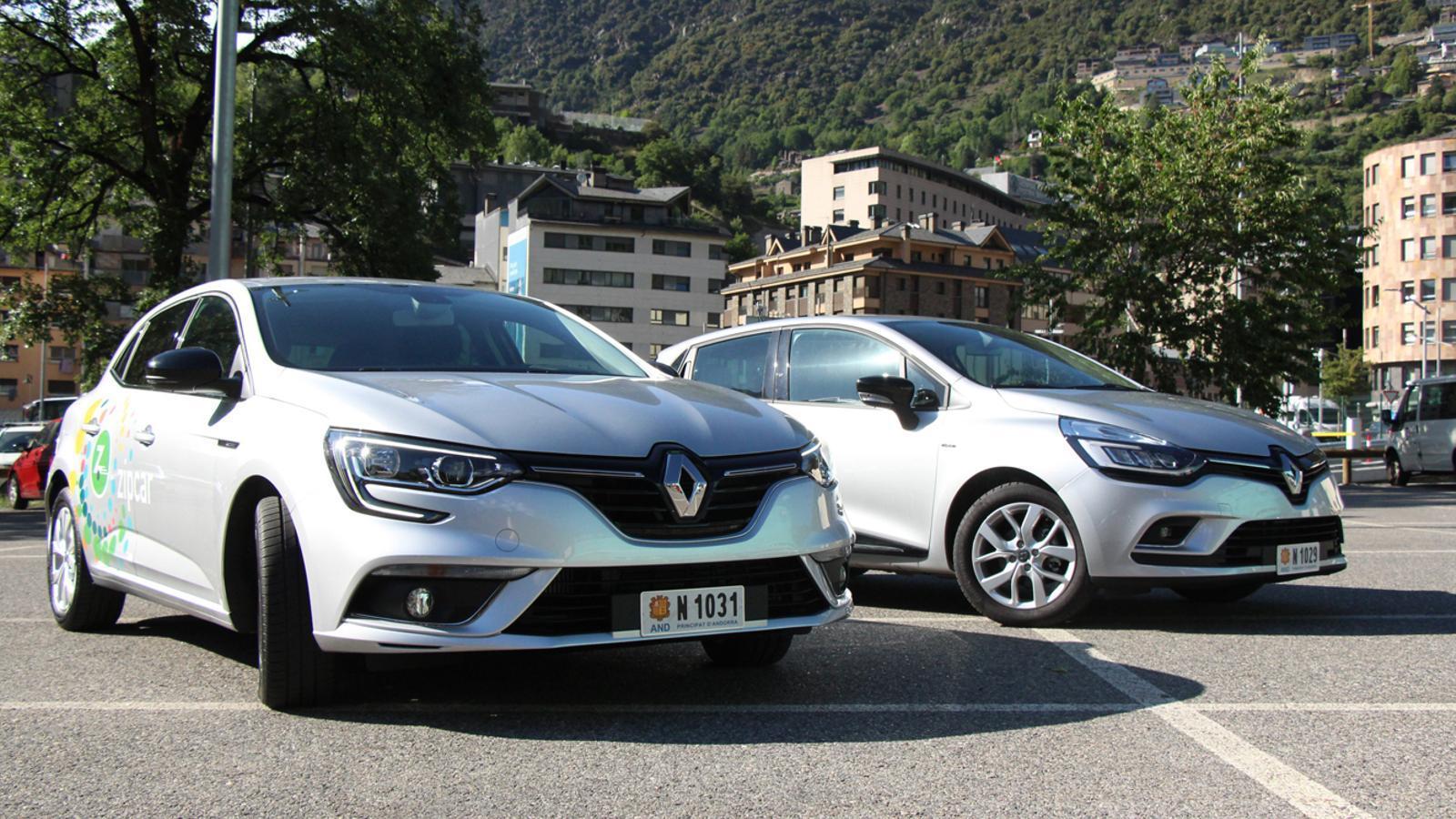 Els dos models de vehicles que ofereix el grup Becier. / M. P. (ANA)