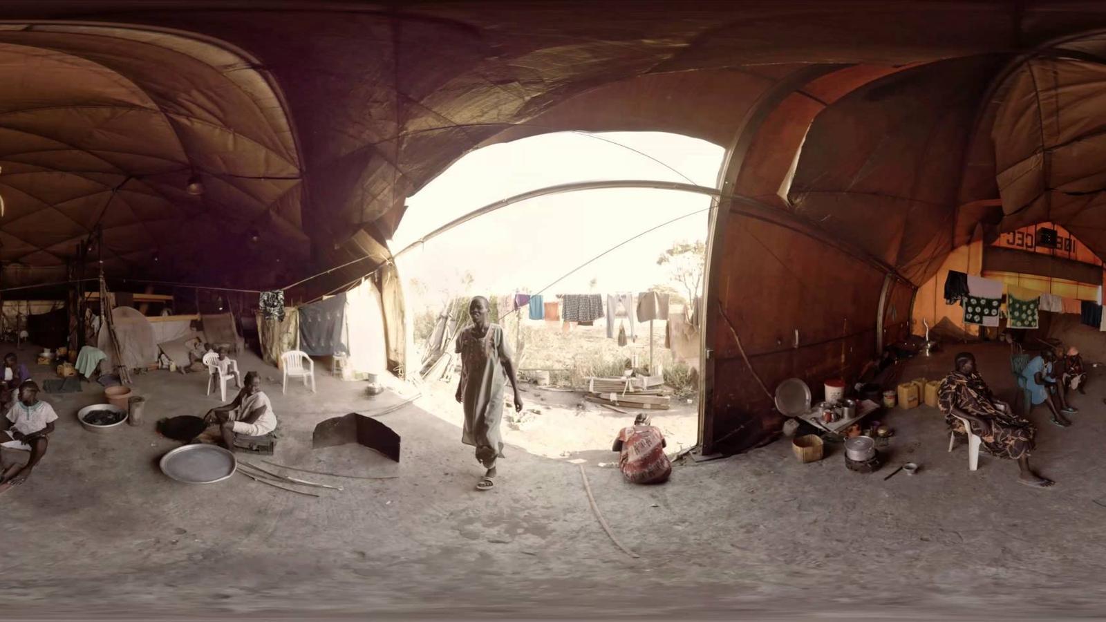 VÍDEO DE 3D SOBRE EL CAMP DE MALAKAL, DE MSF AL SUDAN DEL SUD