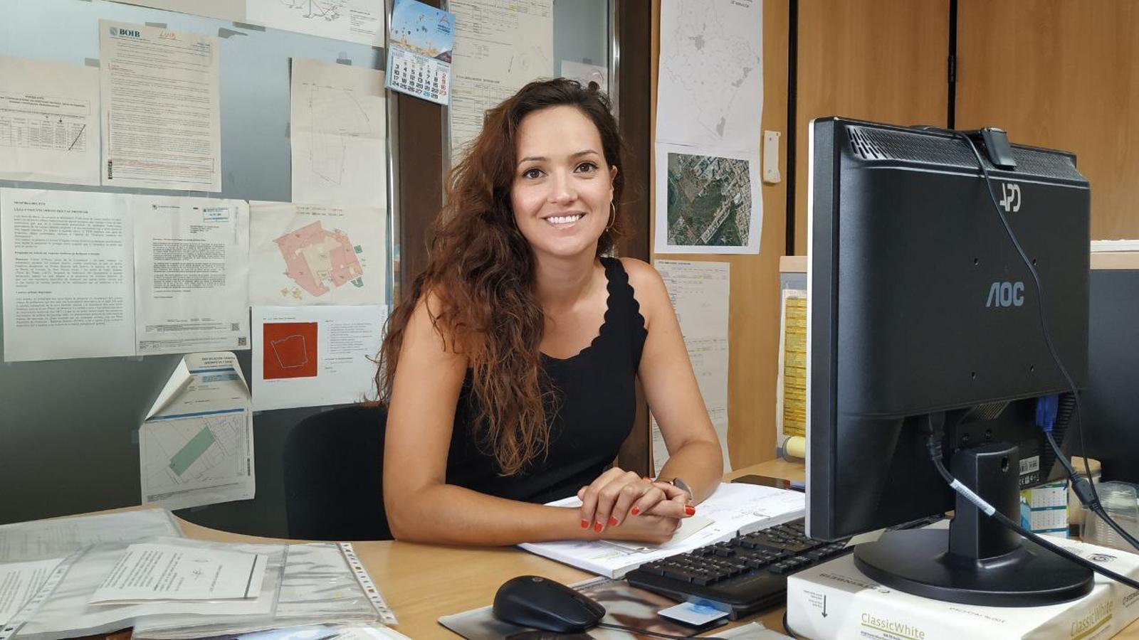 Núria Hinojosa, delegada d'Urbanisme i Habitatge. / AJUNTAMENT DE MANACOR