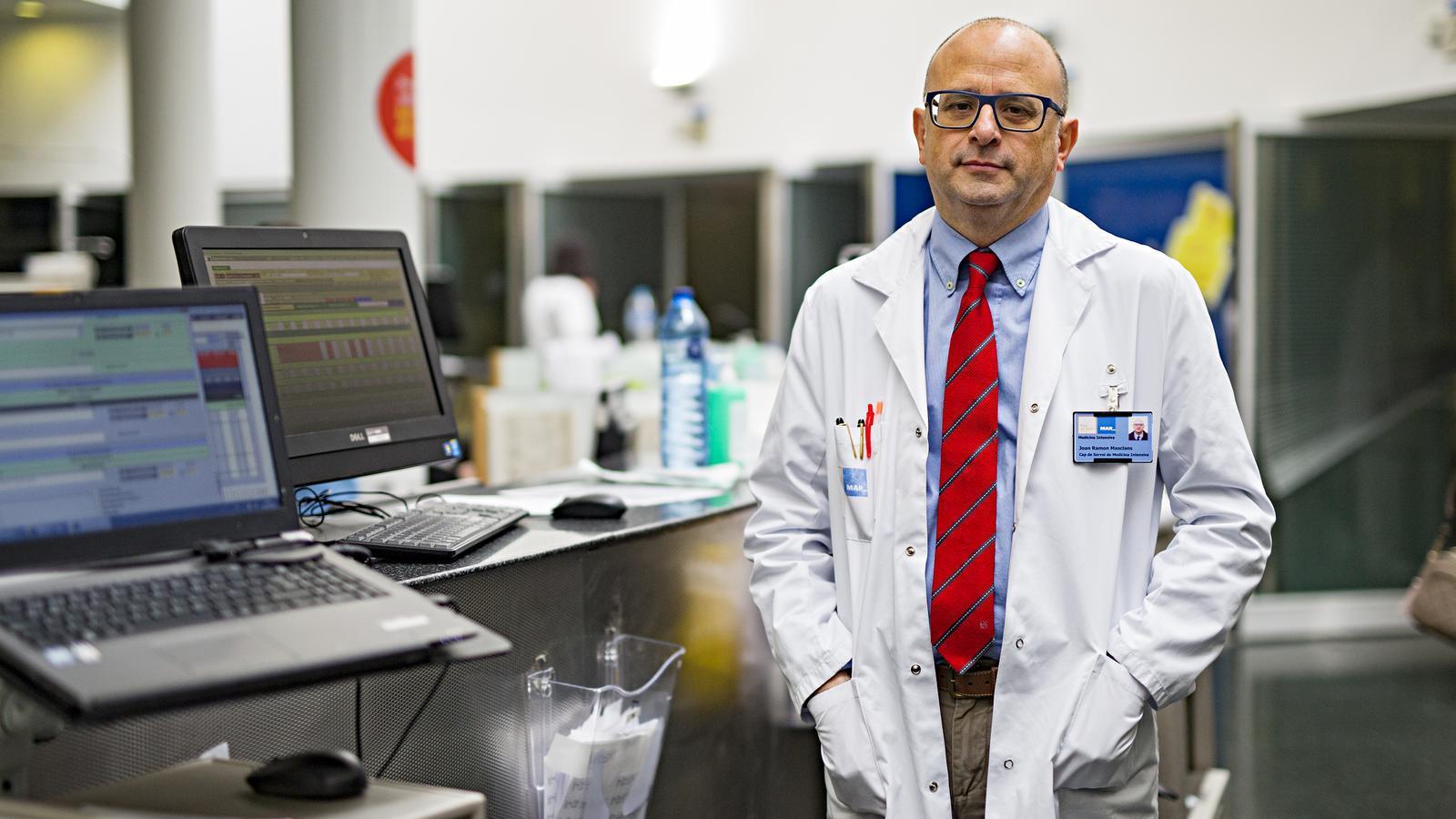 """Joan-Ramon Masclans, cap de medicina intensiva de l'Hospital del Mar: """"Em nego a acceptar que estigui tot perdut"""""""