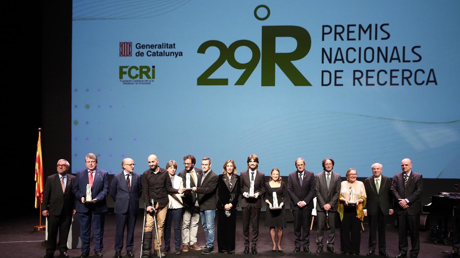 Fotografia dels premiats