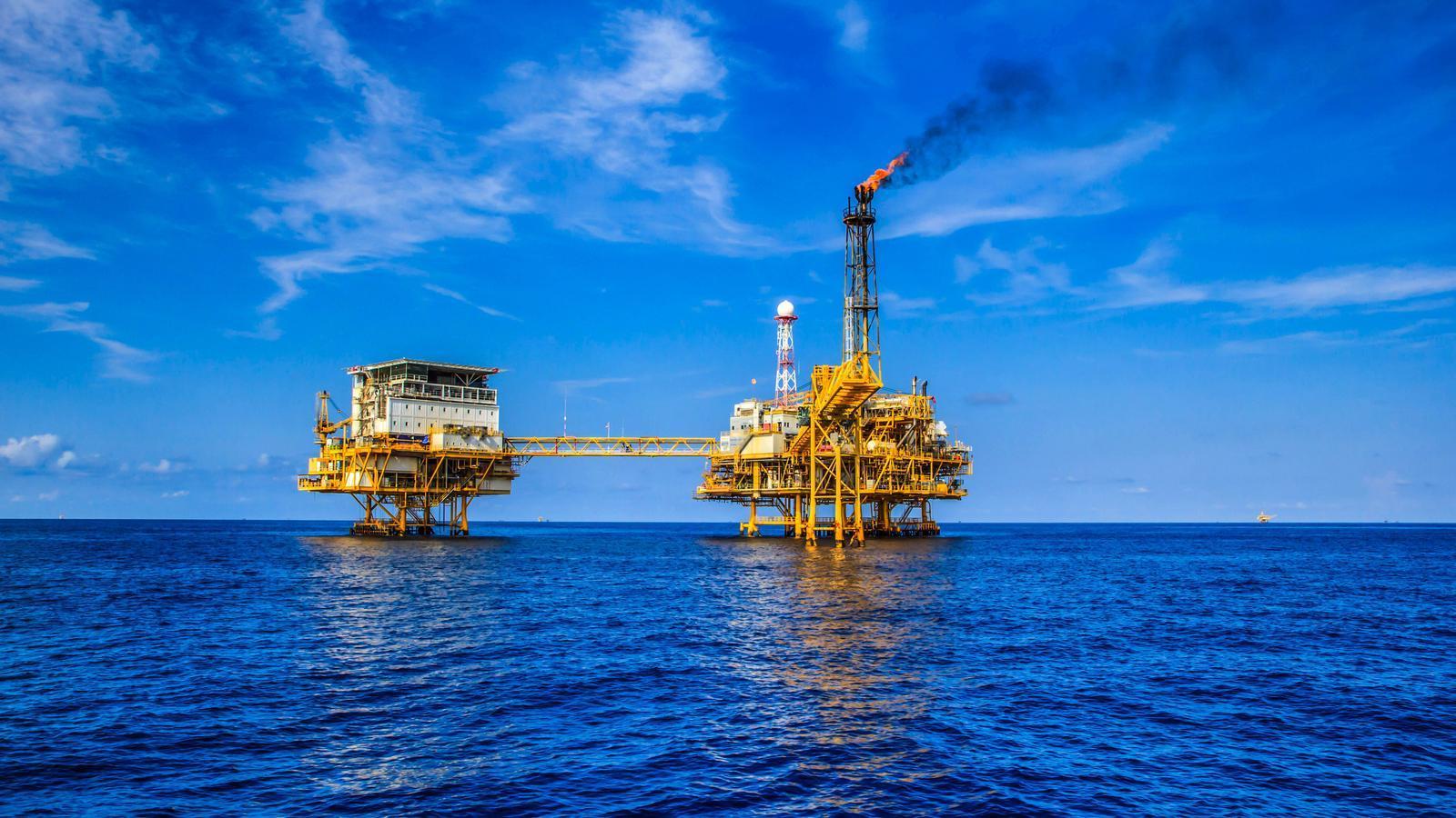 Plataforma de gas i petroli