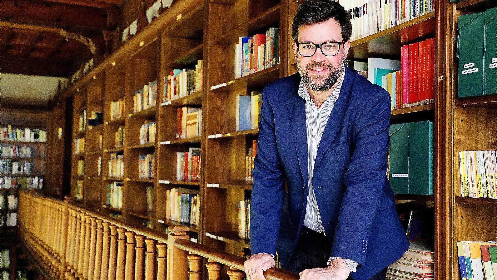 """Antoni Noguera: """"No volem que Palma sigui una ciutat franquícia"""""""