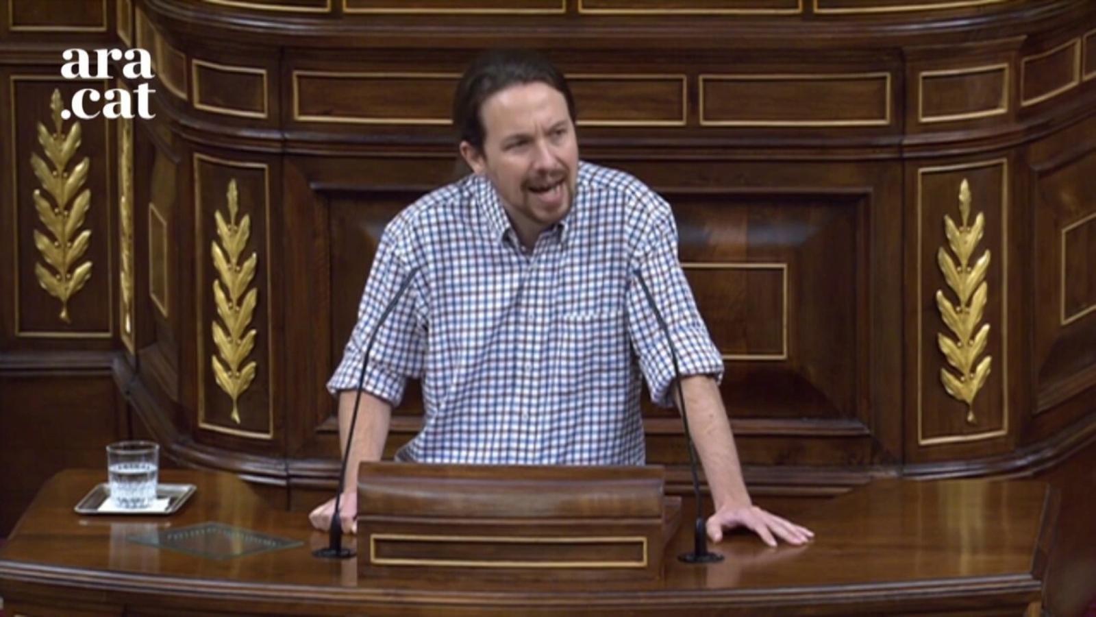 """Iglesias: """"Li faig una proposta: cedeixi'm les competències actives d'ocupació"""""""