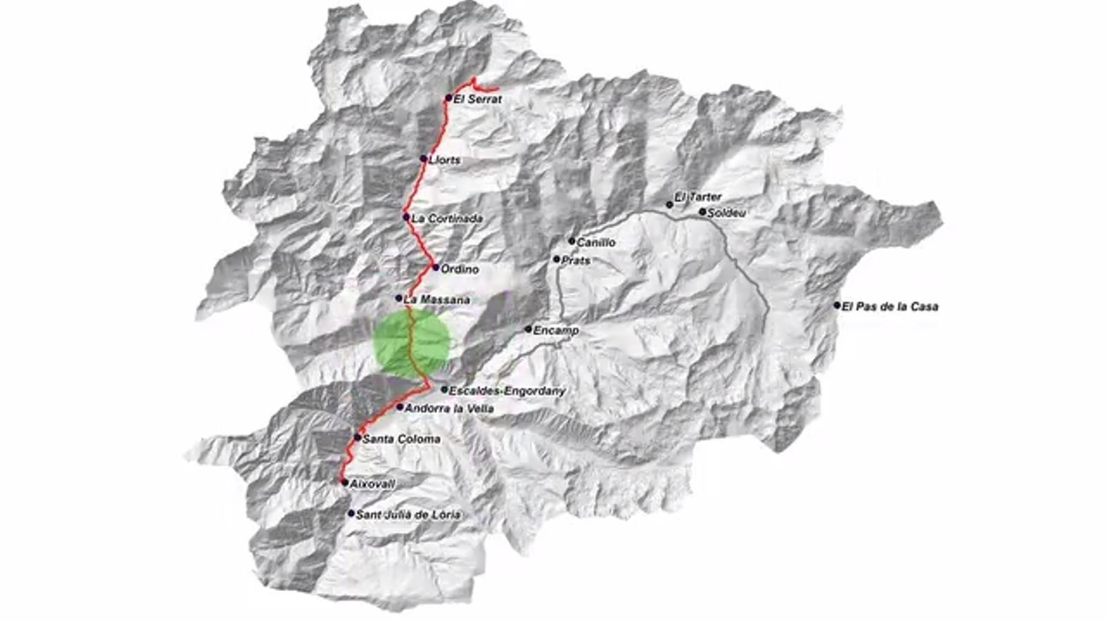 La promoció del camí verd que unirà Sant Julià i Sorteny