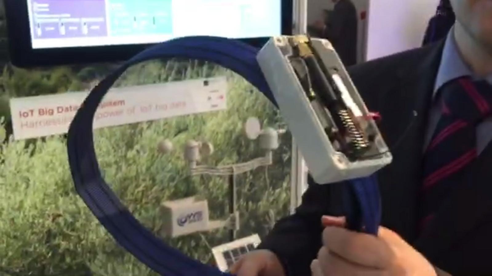 El rellotge intel·ligent de les vaques, al MWC 2016