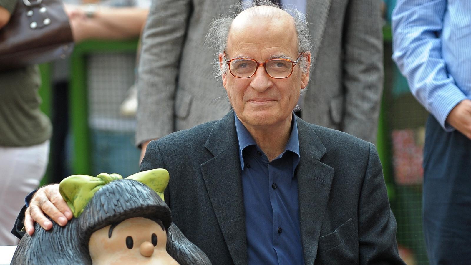 """""""Avui la Mafalda plora"""" i els lectors de Quino també"""