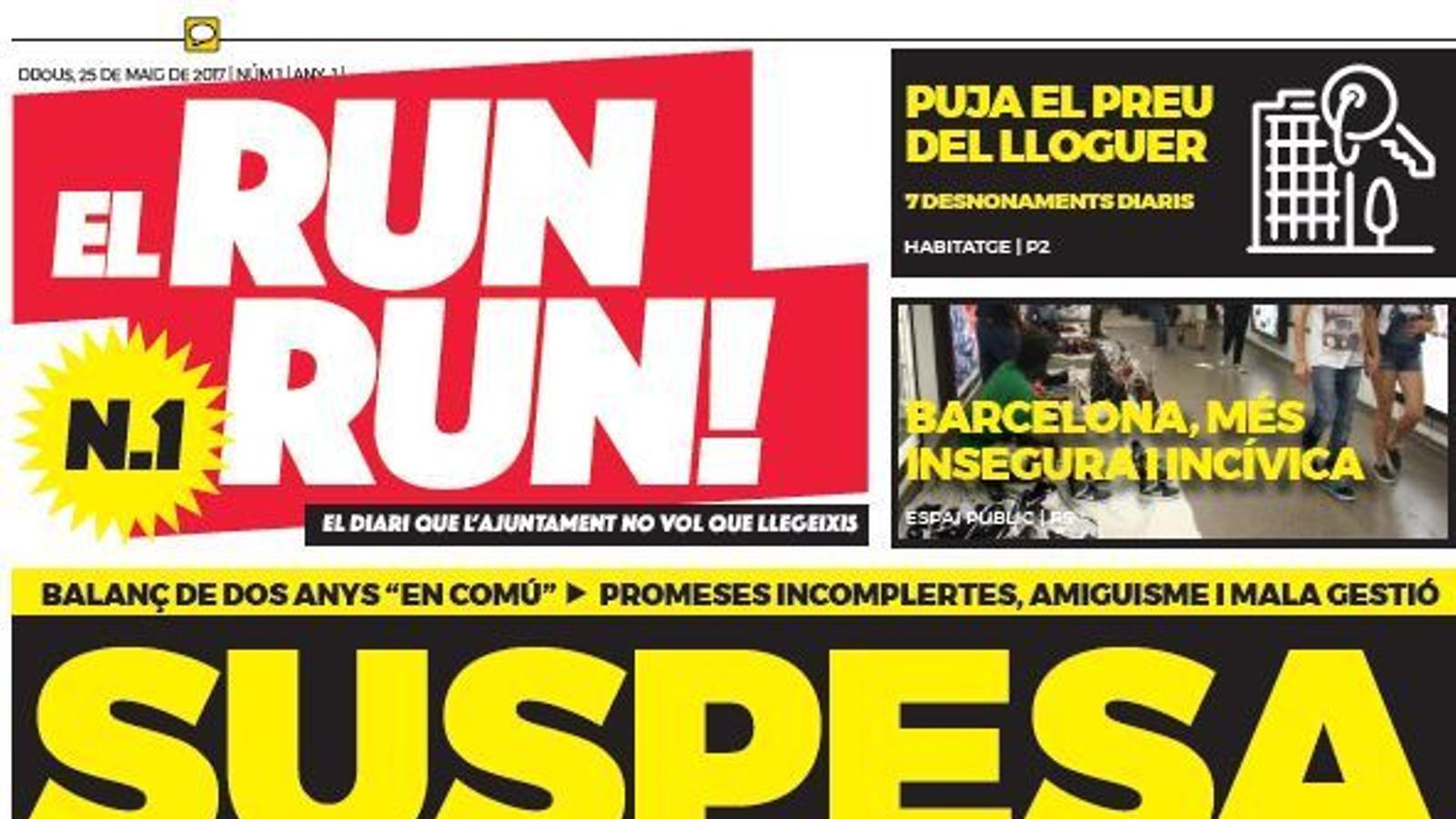 Resultado de imagen de run run ada colau