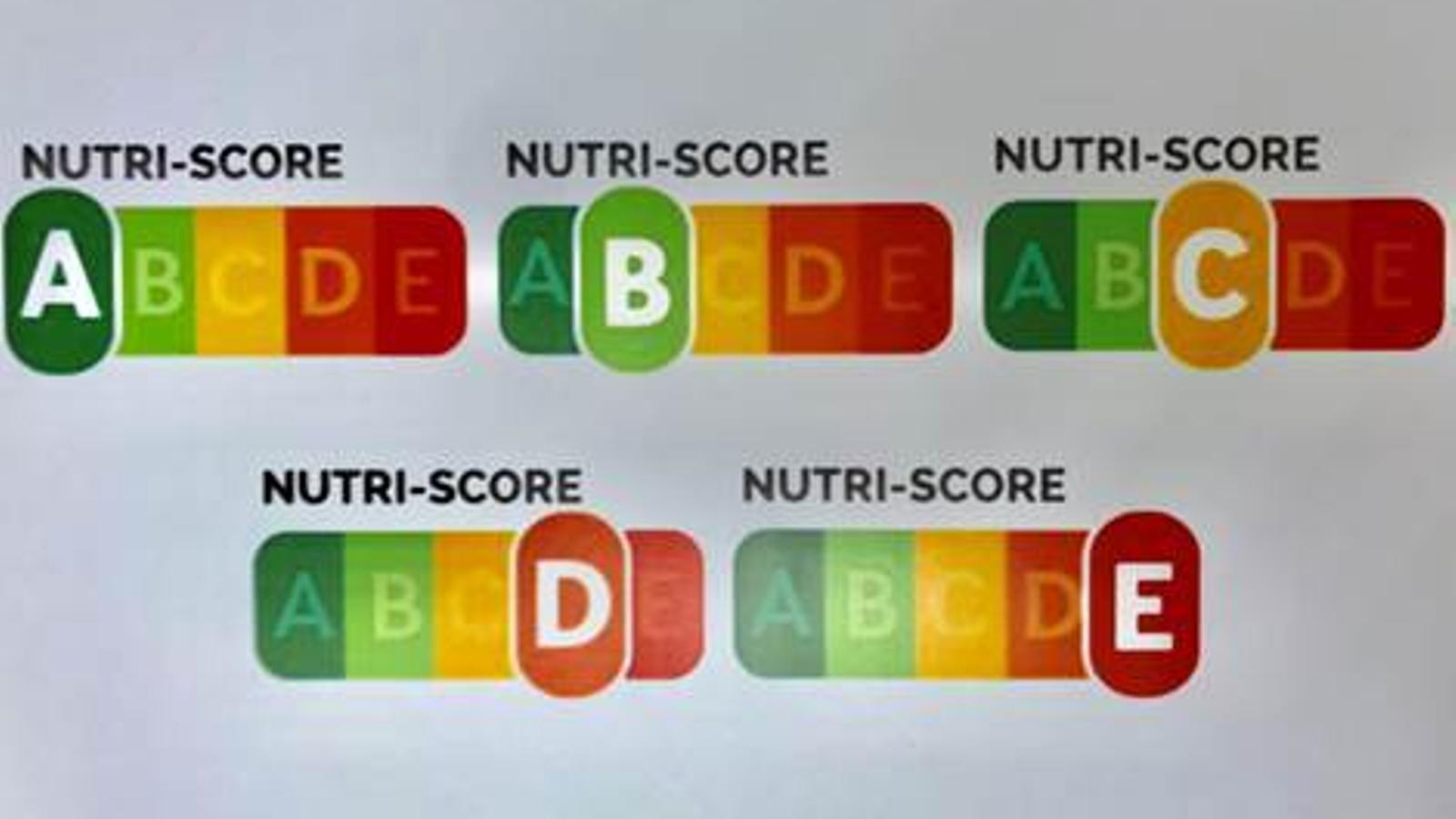 Un nou etiquetatge classificarà els aliments segons els greixos, sucres i calories