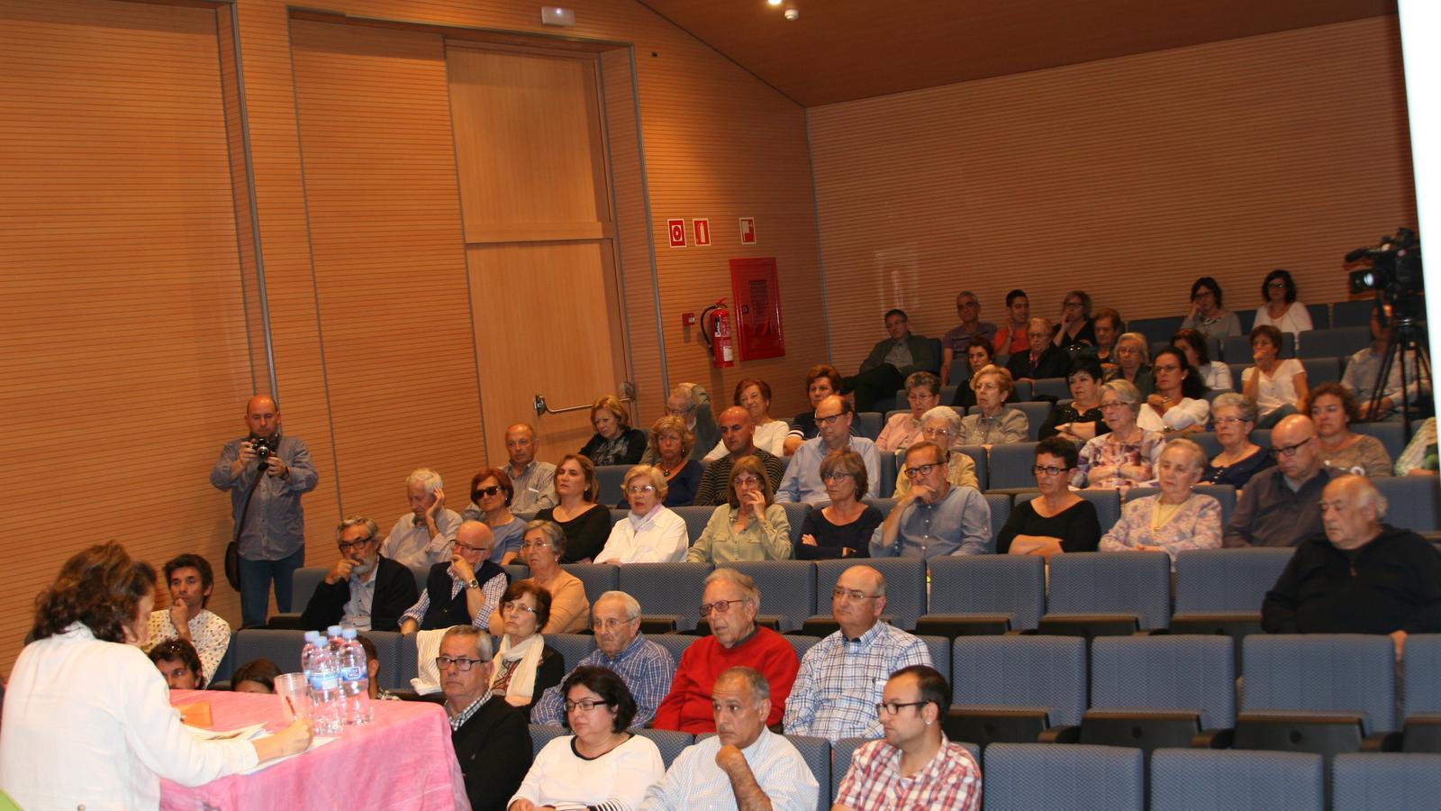 La presentació del projecte ha tingut lloc a la sala d'actes del Conservatori de Música