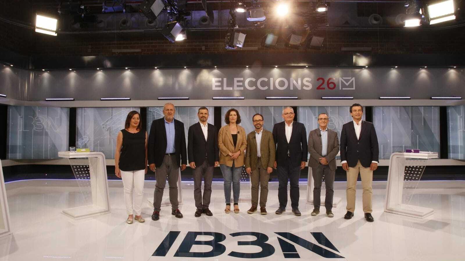 Foto de família dels candidats a les eleccions autonòmiques.