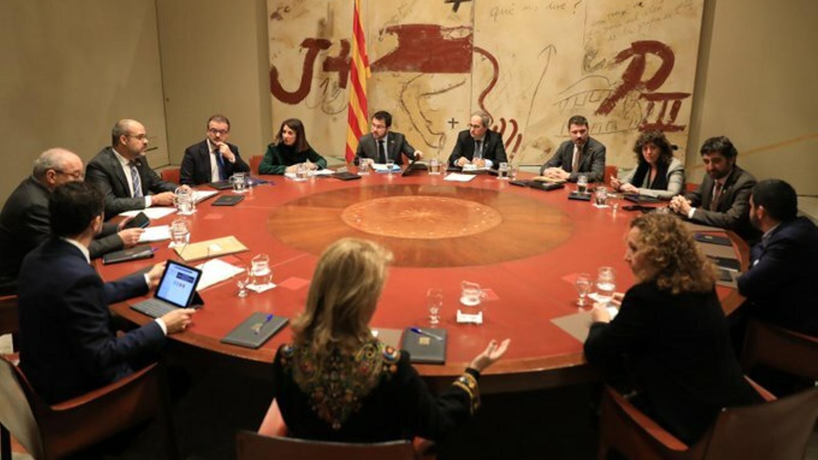 Budó afirma que la reunió dels presidents ha de servir per definir la taula de negociació entre governs