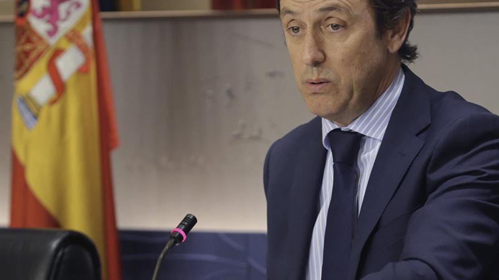 El portaveu popular al Congrés, Rafael Hernando. EFE