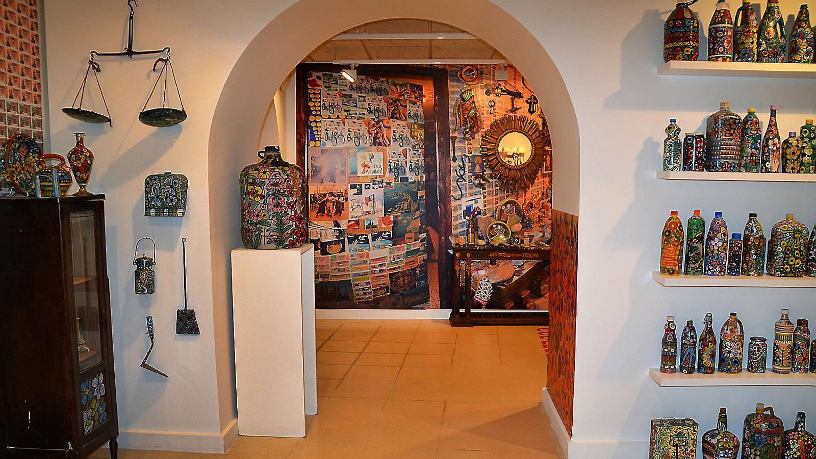 La misteriosa dona que va convertir casa seva en una obra d'art