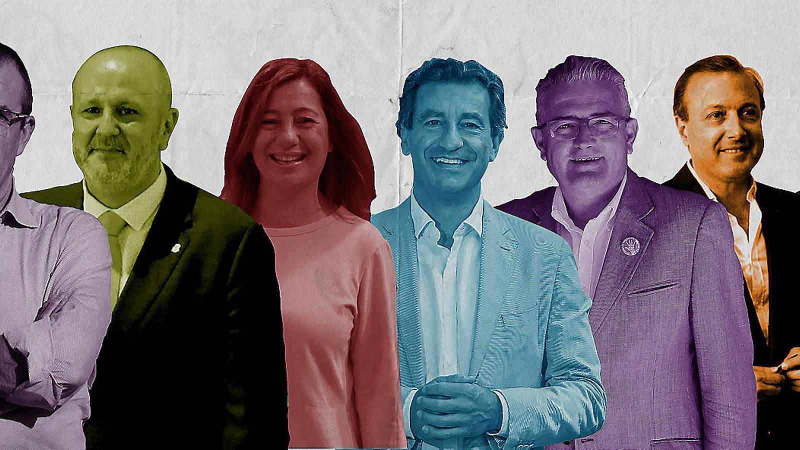 Les forces polítiques han elegit més o menys formalment els candidats i només Podem encara presenta alguns dubtes.
