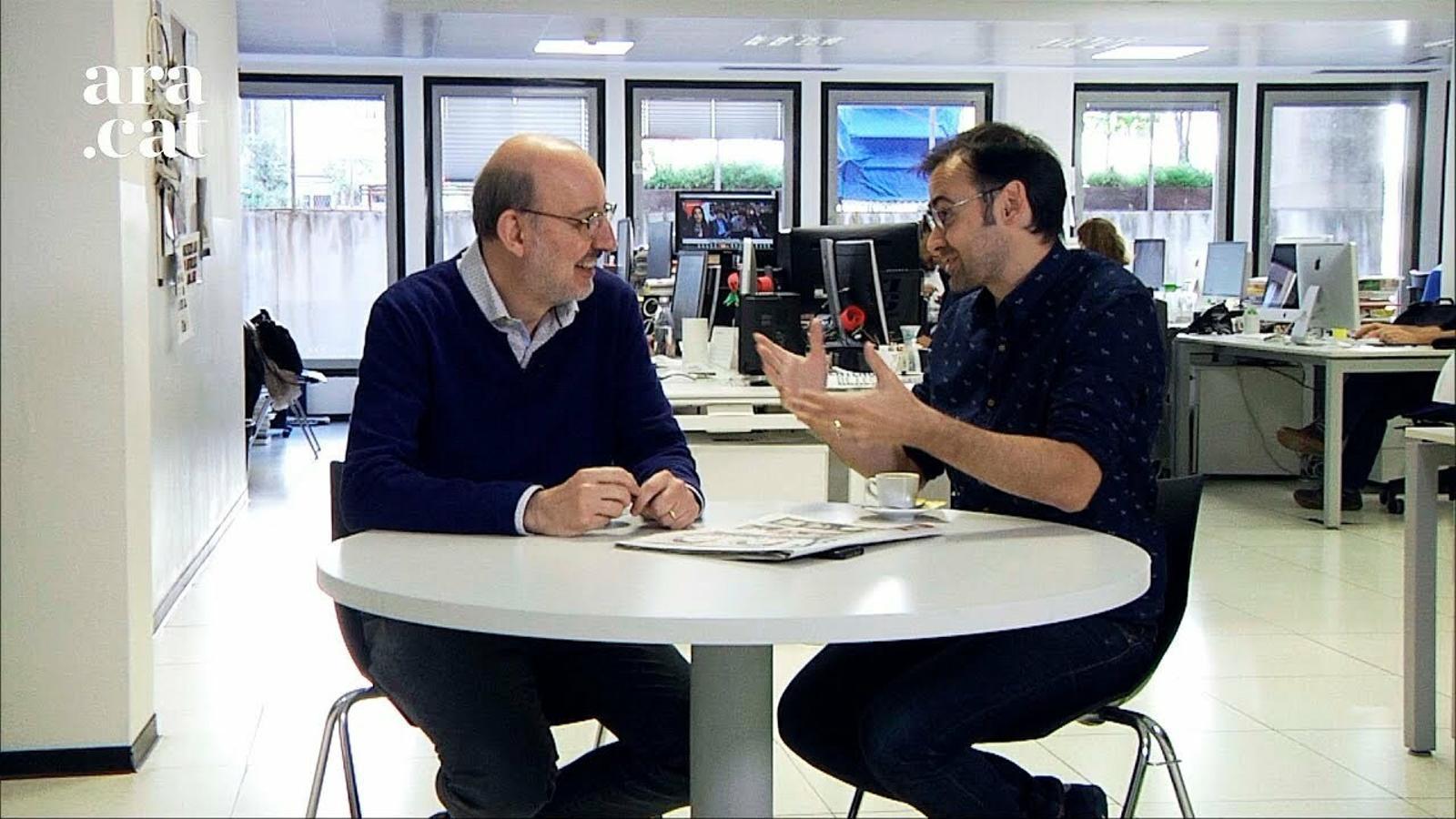 """El cafè de la Lliga: """"El Barça és com Pedro Sánchez, guanya però no governa"""""""