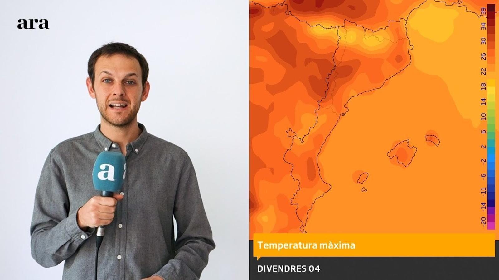La méteo: temps d'estiu fins diumenge